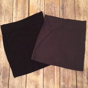 Set of two mini skirts